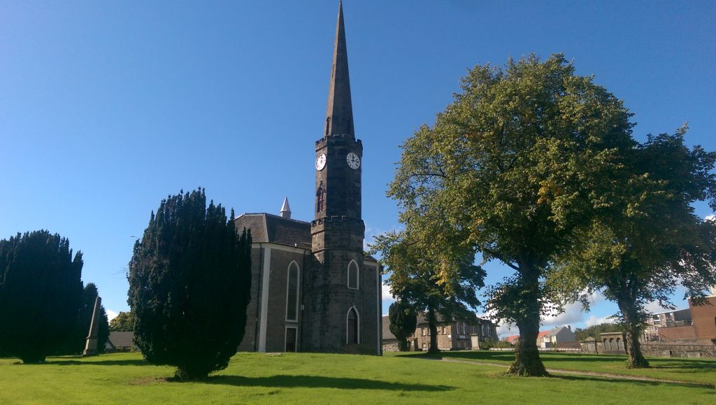 An image of Johnstone High Parish Church