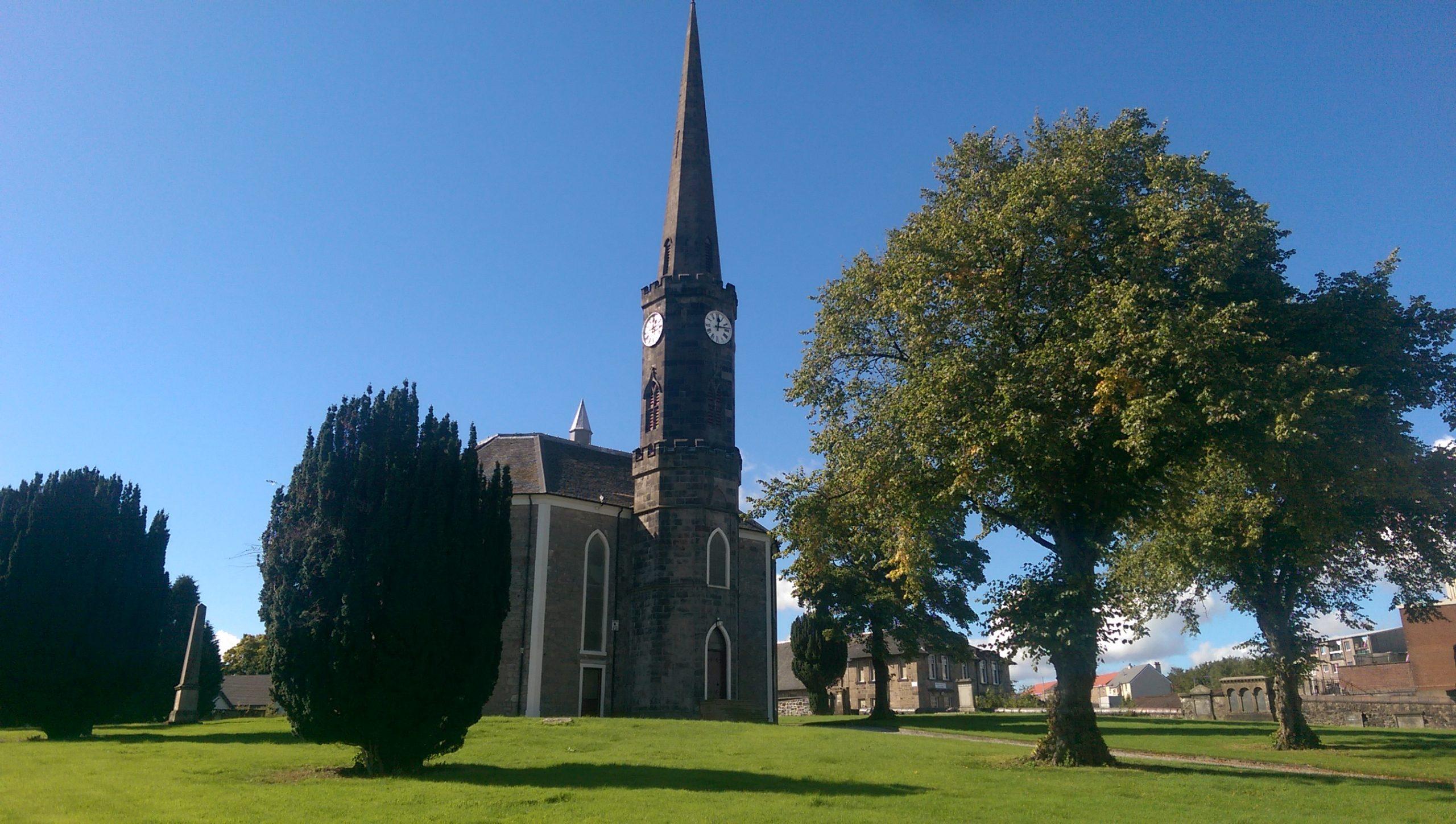 An image of Johnstone High Parish Church